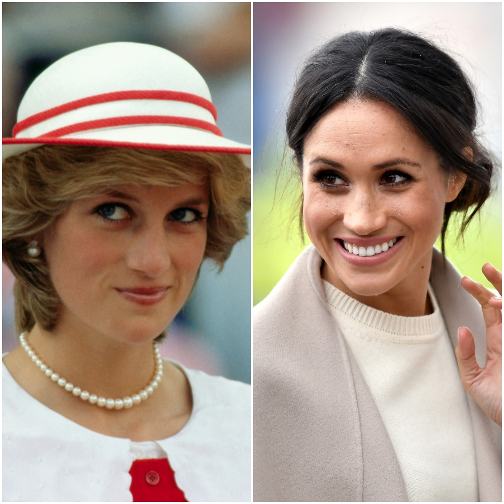 Princess Diana; Meghan Markle
