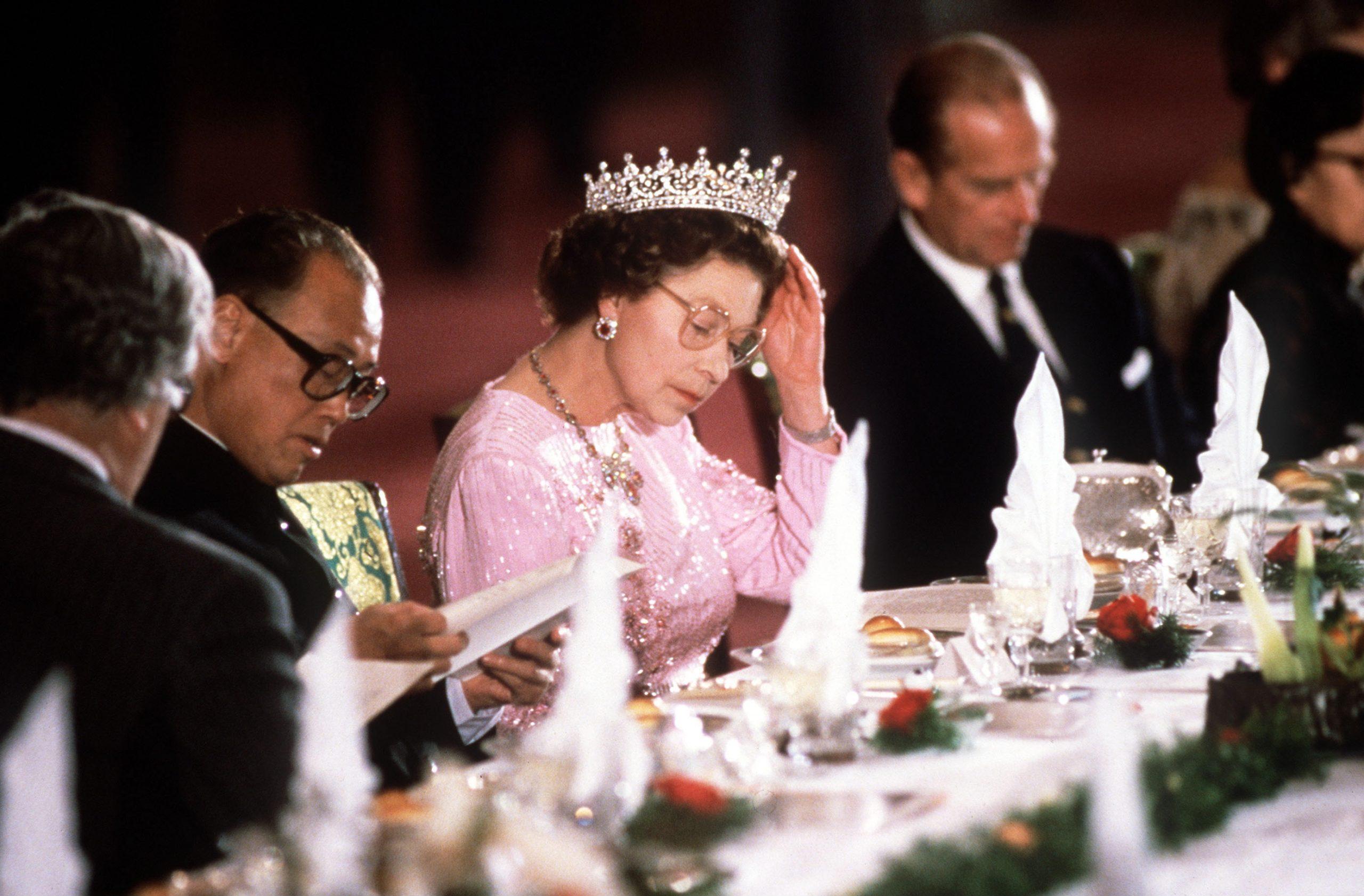 Queen Elizabeth in China