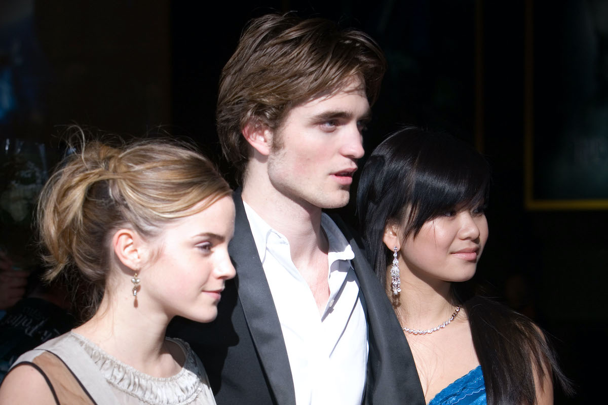 Emma Watson, Robert Pattinson and Katie Leung at the 'Harry Potter and the Goblet of Fire' Tokyo premiere