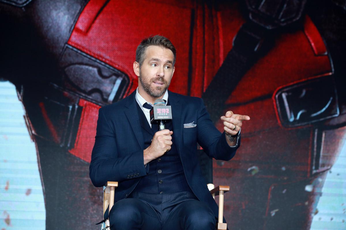 Ryan Reynolds at the 'Deadpool 2' premiere