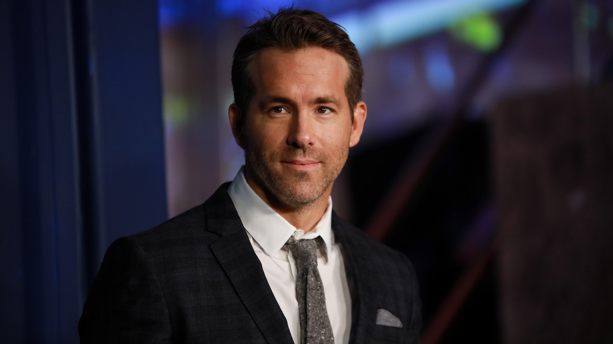 Ryan Reynolds at the '6 Underground' premiere