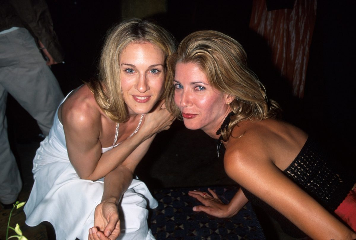 Sarah Jessica Parker and Candace Bushnell