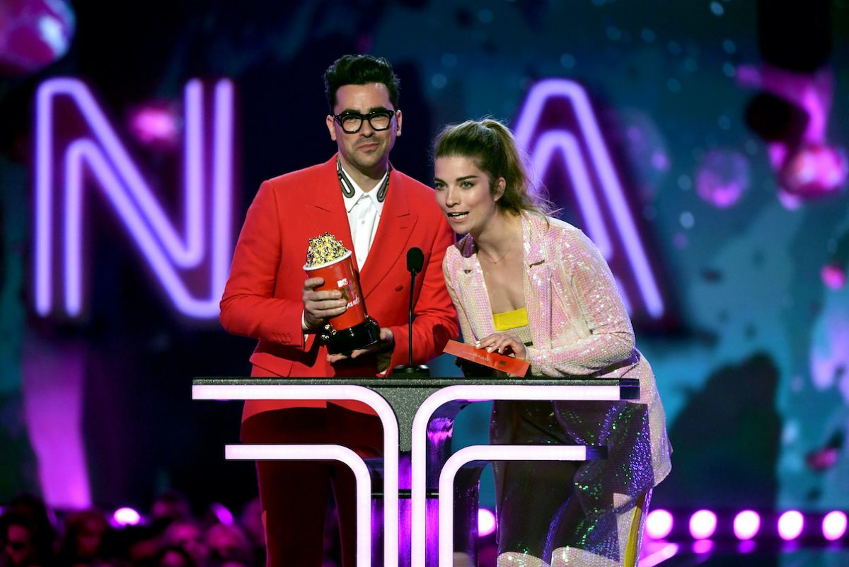 Dan Levy and Annie Murphy