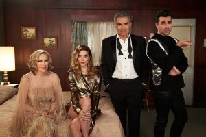 'Schitt's Creek' Cast Makes Eugene Levy Cry In Emotional Tribute
