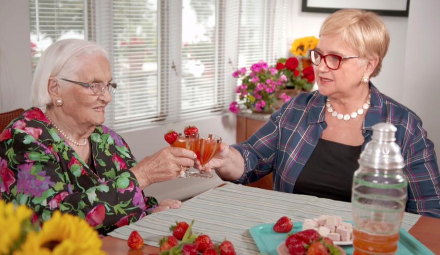 Grandma Erminia and Lidia Bastianich
