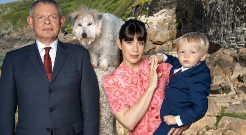 The cast of 'Doc Martin'