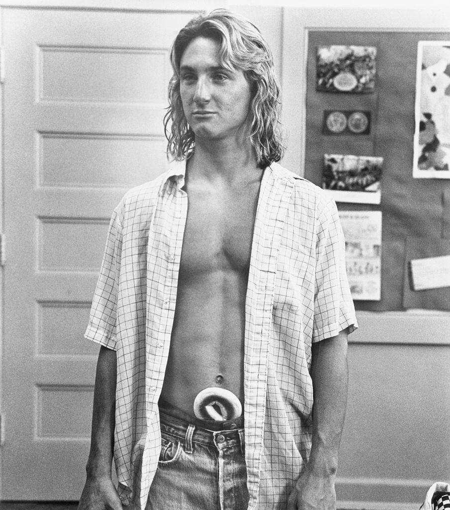 Sean Penn in the movie Fast Times at Ridgemont High