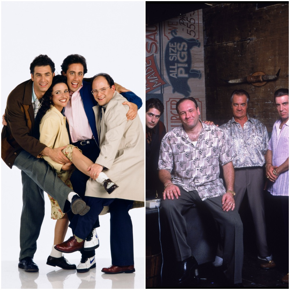Seinfeld and The Sopranos