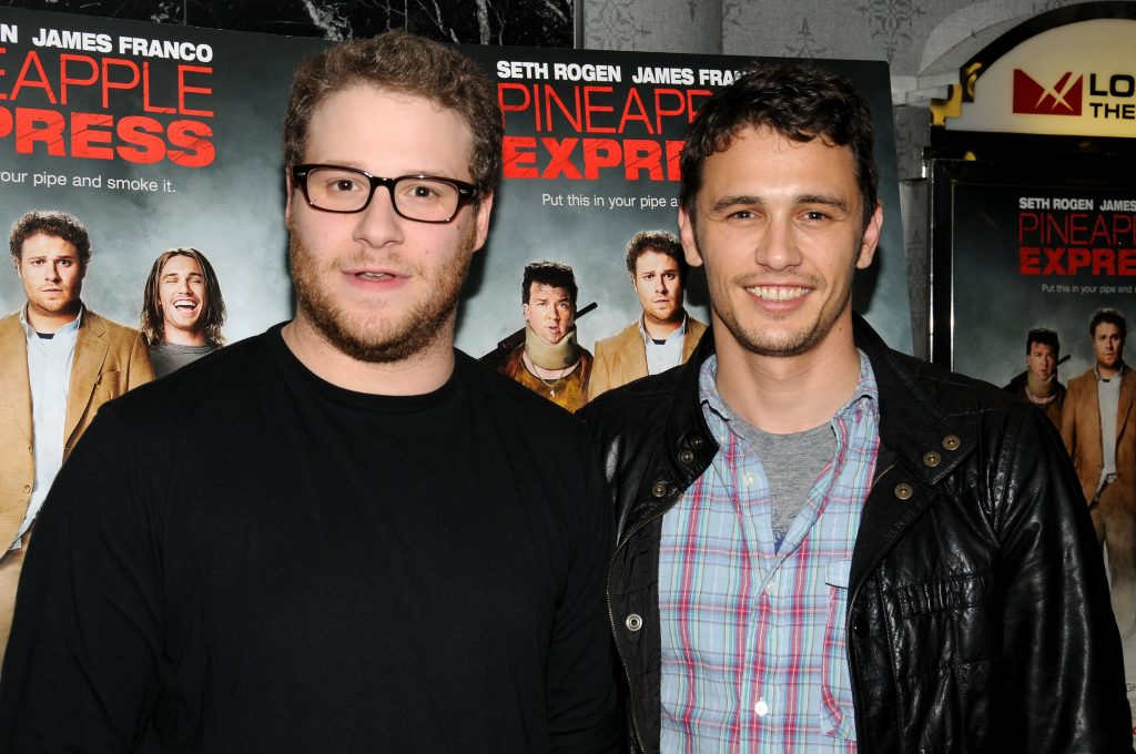 Seth Rogen and James Franco of 'Pineapple Express'