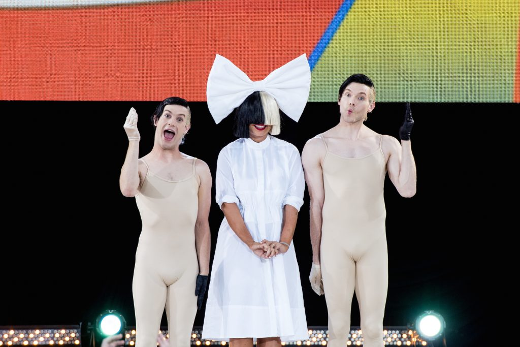 Sia Performs On 'Good Morning America' on July 22, 2016