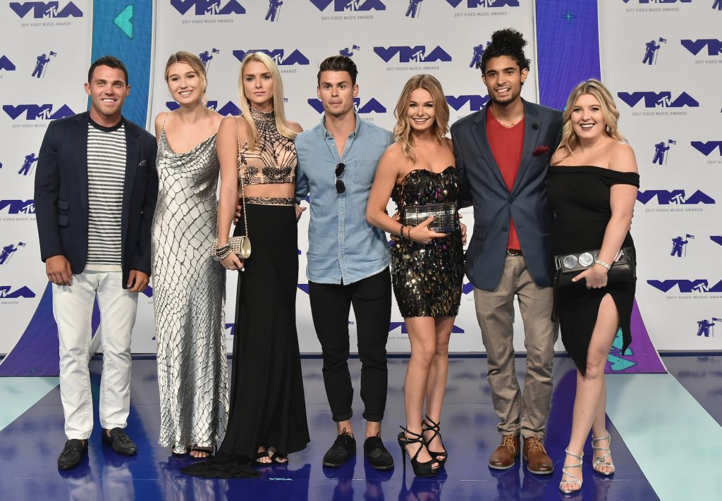The cast of 'Siesta Key' arrives at the MTV Video Music Awards