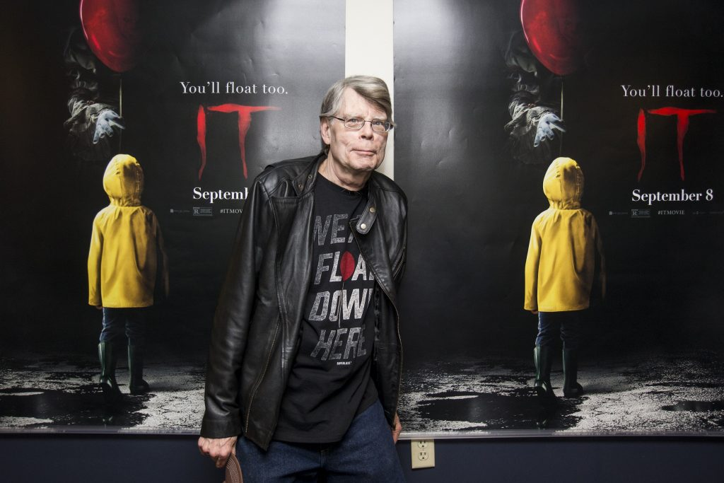 Stephen King attends a special screening of 'IT'