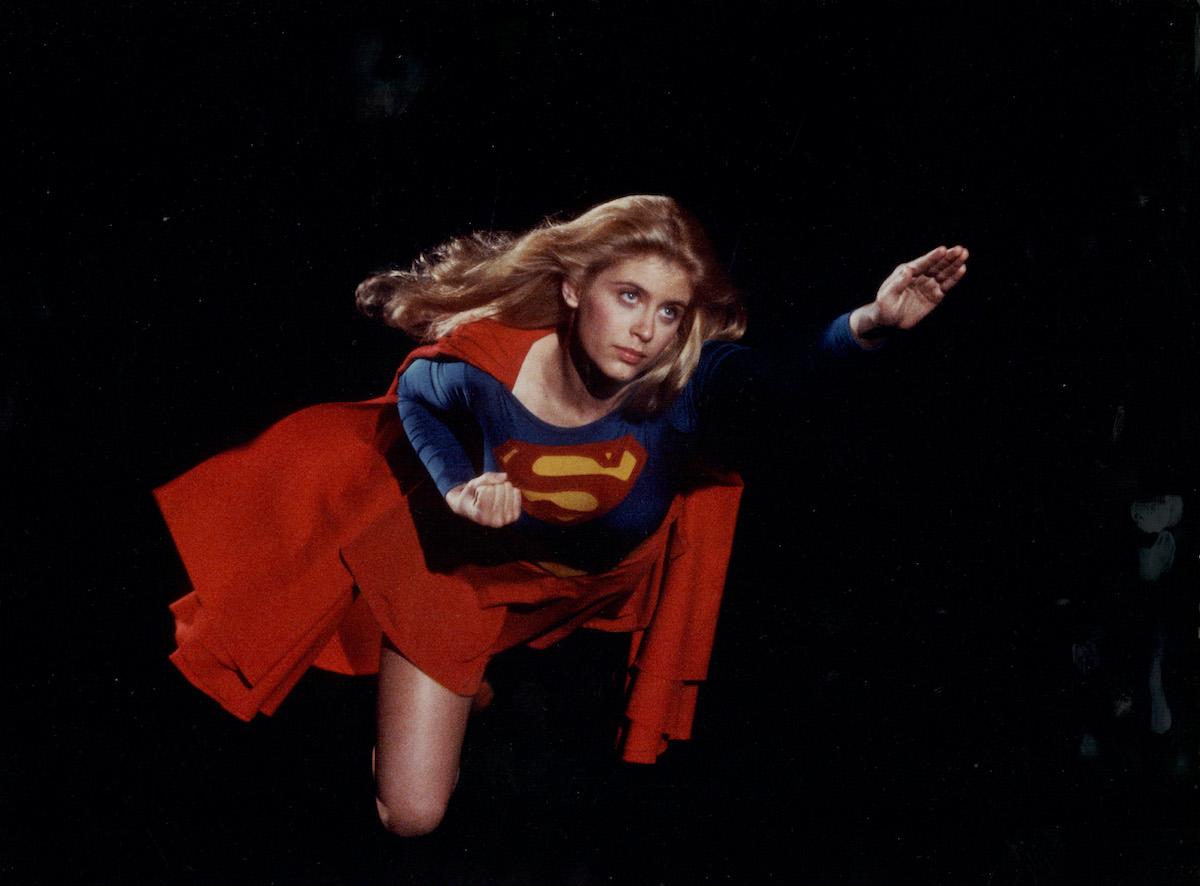 Helen Slater in the 1984 film 'Supergirl'