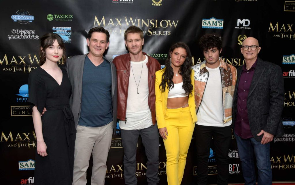 """Sydne Mikelle, Sean Olson, Chad Michael Murray, Jade Chynoweth, Dale Gibson and Johnny Remo attend a screening of """"Max Winslow And The House of Secrets""""   Michael Tullberg/Getty Images"""
