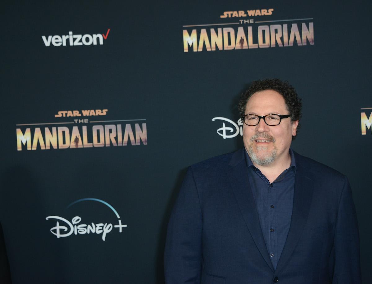 Jon Favreau at 'The Mandalorian' premiere