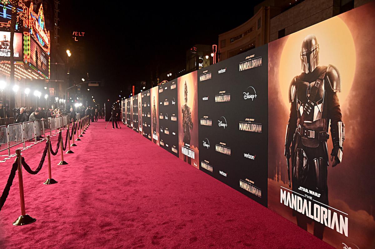 'The Mandalorian' premiere