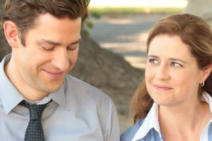 'The Office': Why John Krasinski Says Jim and Pam's Accidental First Kiss Was 'So Smart'