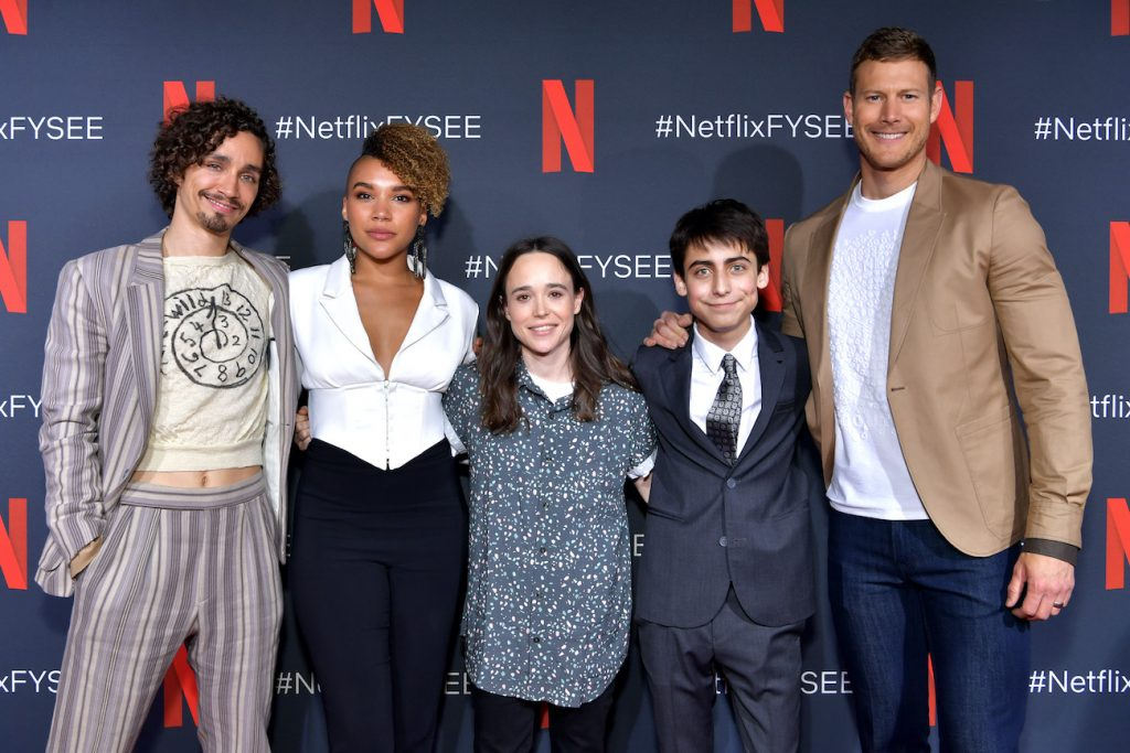 Netflix The Umbrella Academy cast