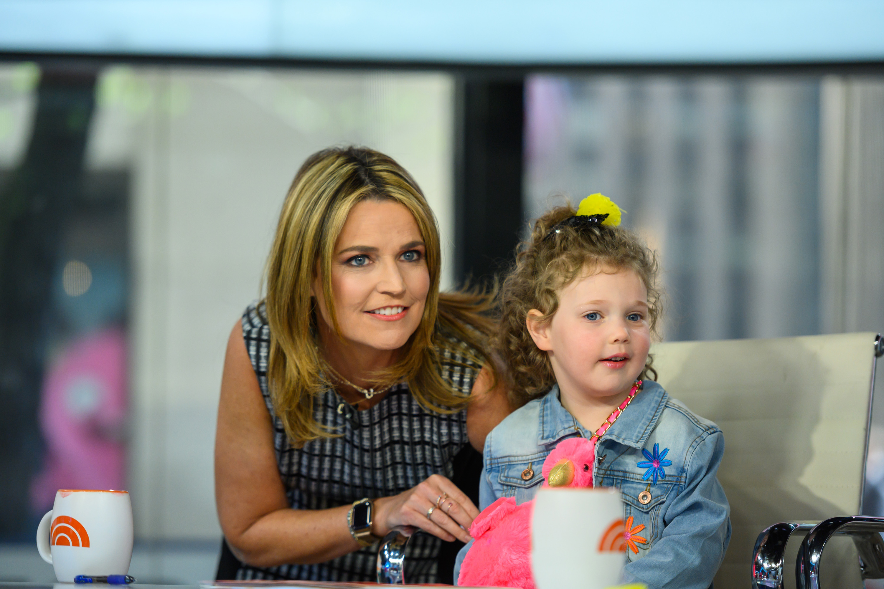 Today Show Star Savannah Guthrie Posts Stunning Pics And Birthday Wishes To Her Daughter Vale