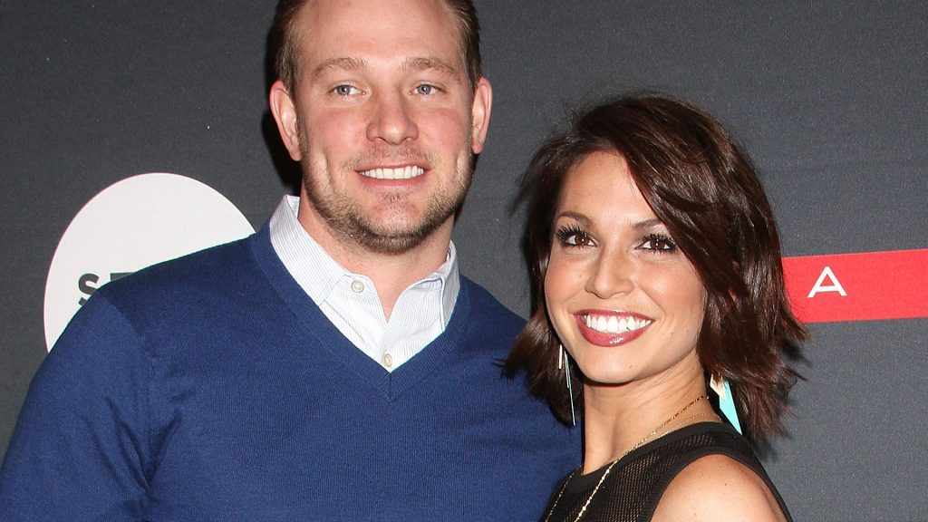 Bachelor Nation star Melissa Rycroft and husband Tye Strickland attend the Matrix Biolage Cleansing Conditioner Launch Event at Crosby Street Hotel on February 19, 2015 in New York City.