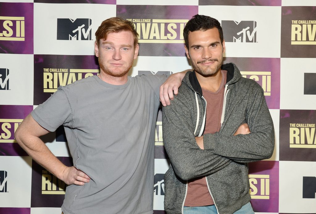 Wes Bergmann and Frank Sweeney attend MTV's 'The Challenge: Rivals II' final episode and reunion party