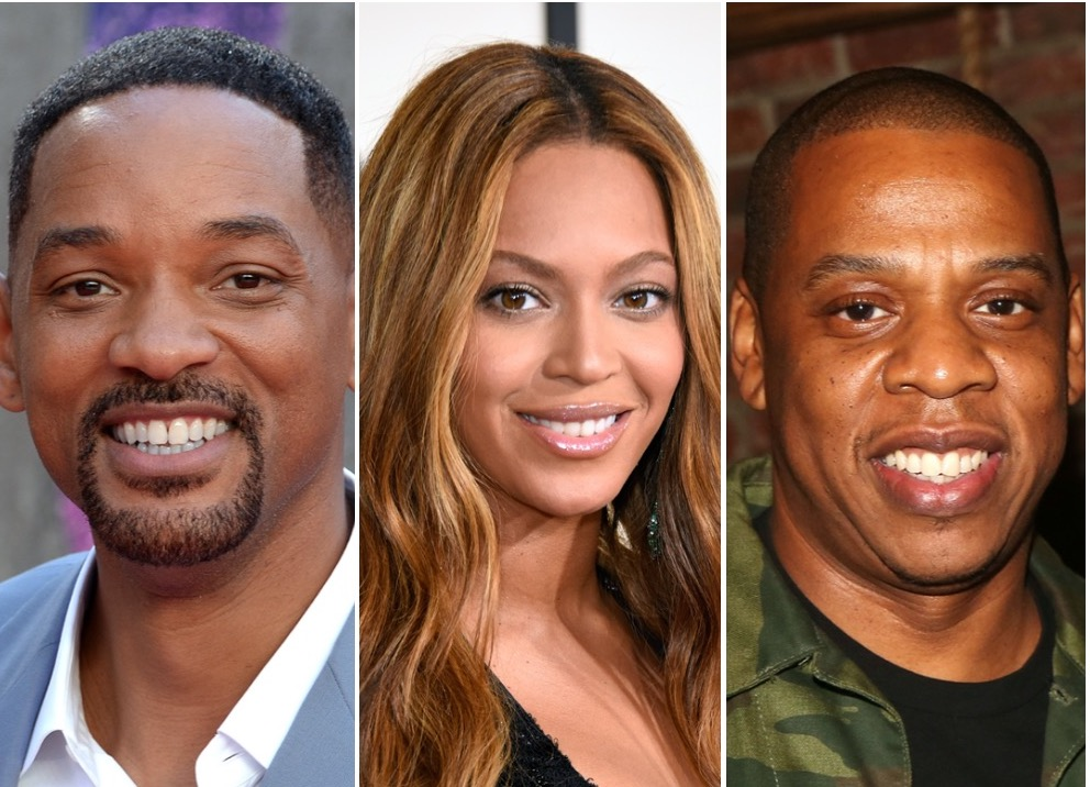Will Smith, Beyoncé, and Jay-Z