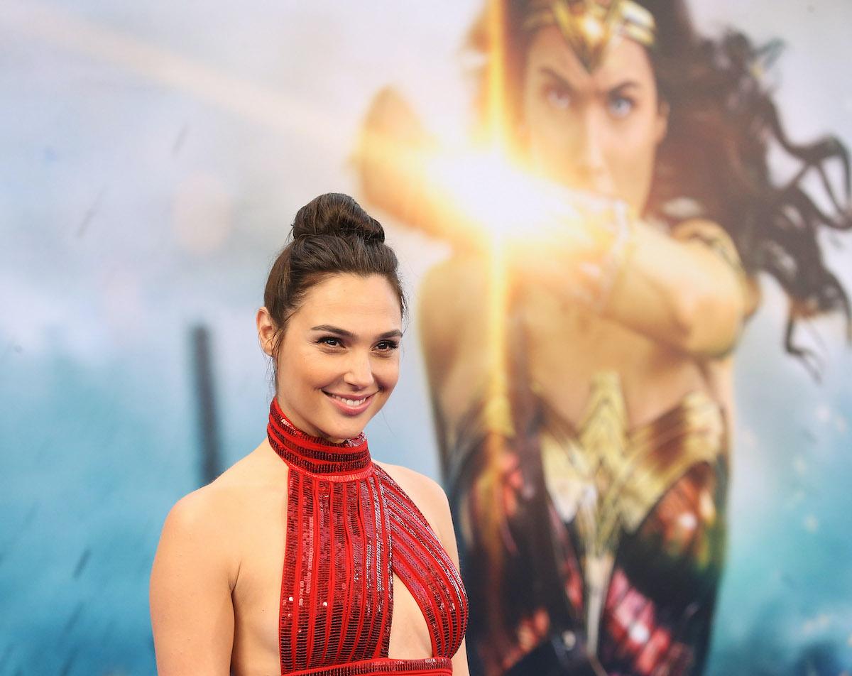 Gal Gadot at the 'Wonder Woman' premiere