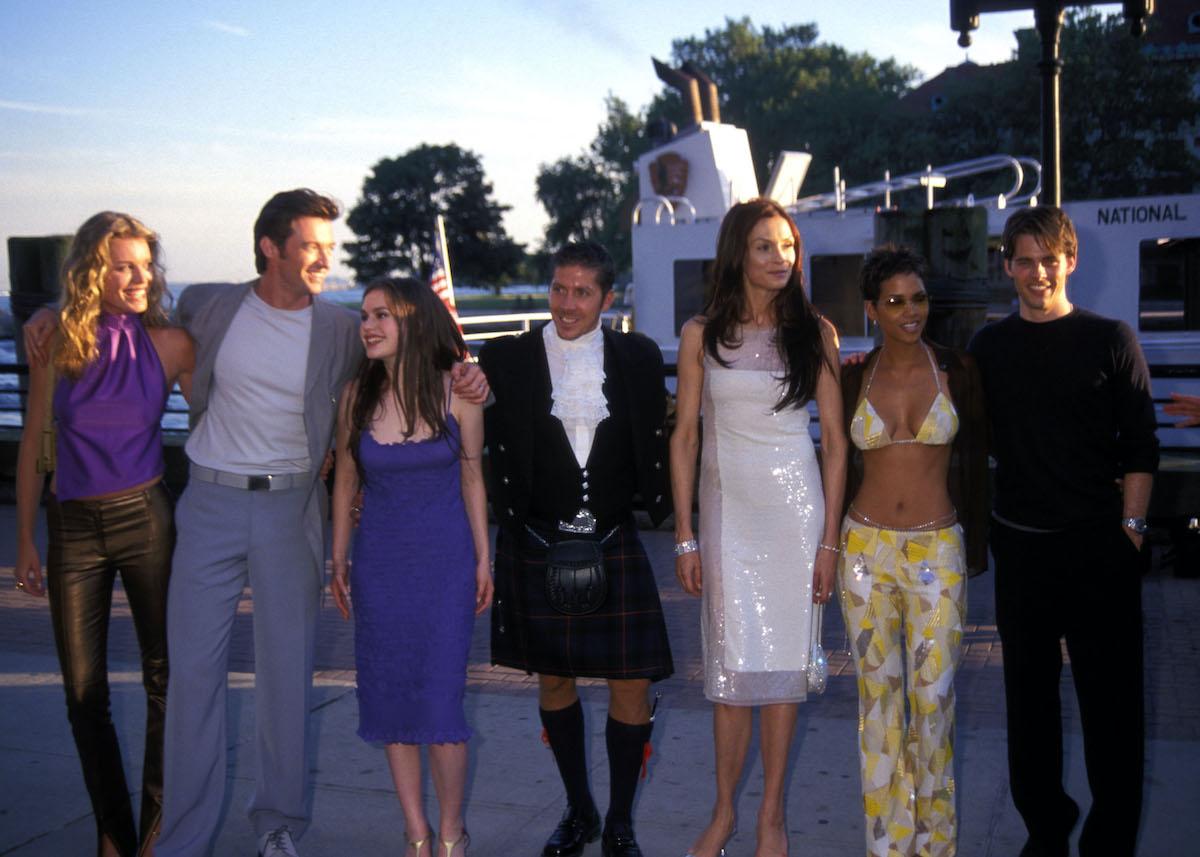 The cast of 'X-Men'