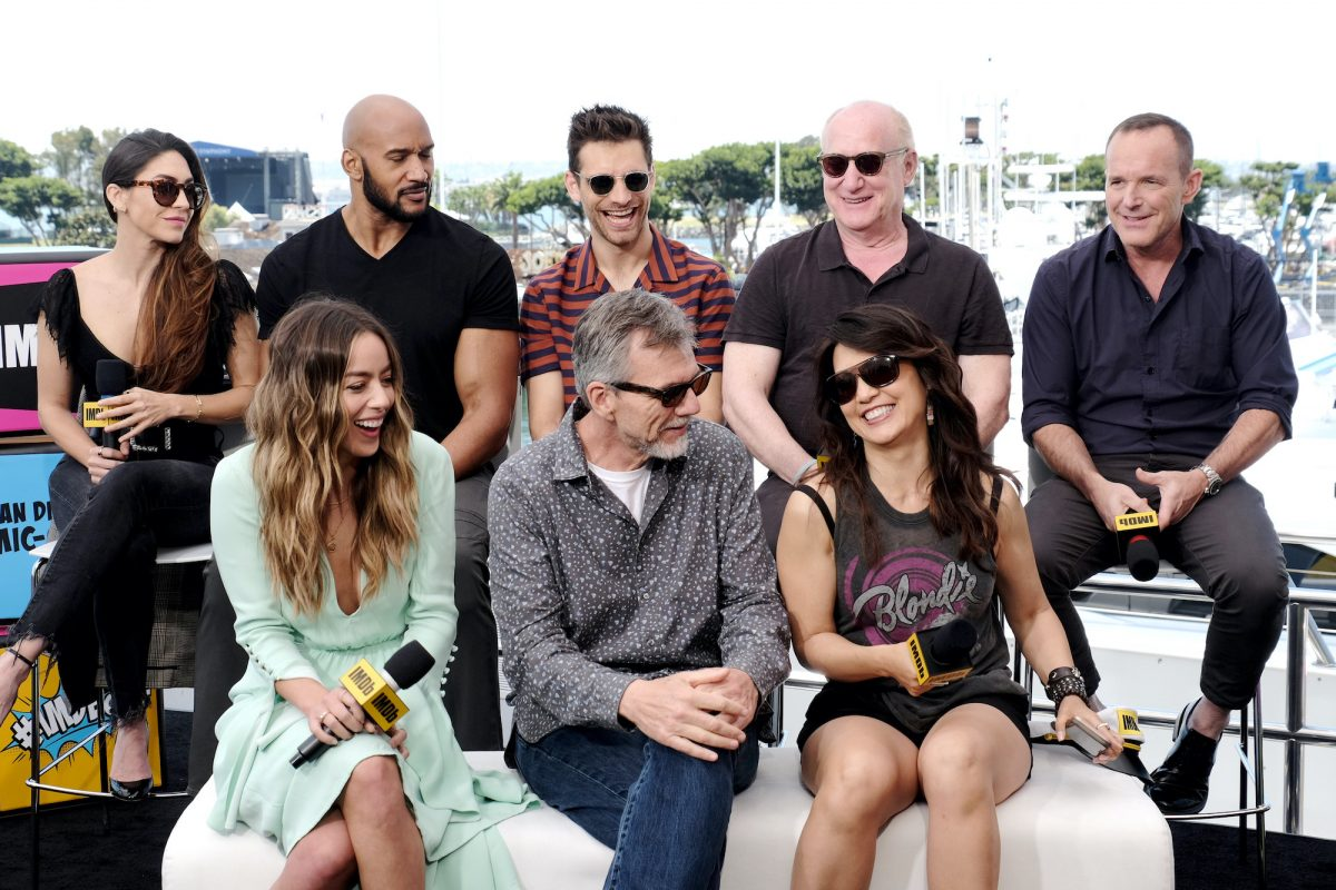 'Agents of SHIELD' cast