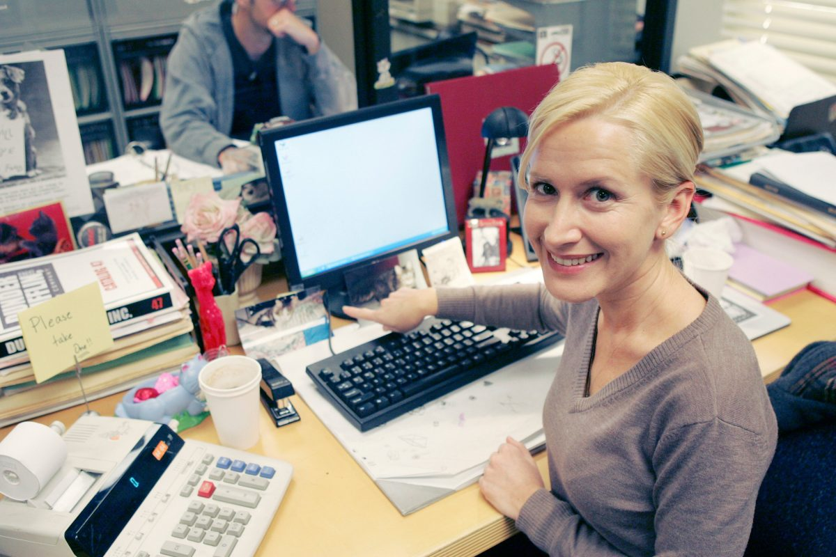 Angela Kinsey as Angela Martin in 'The Office'