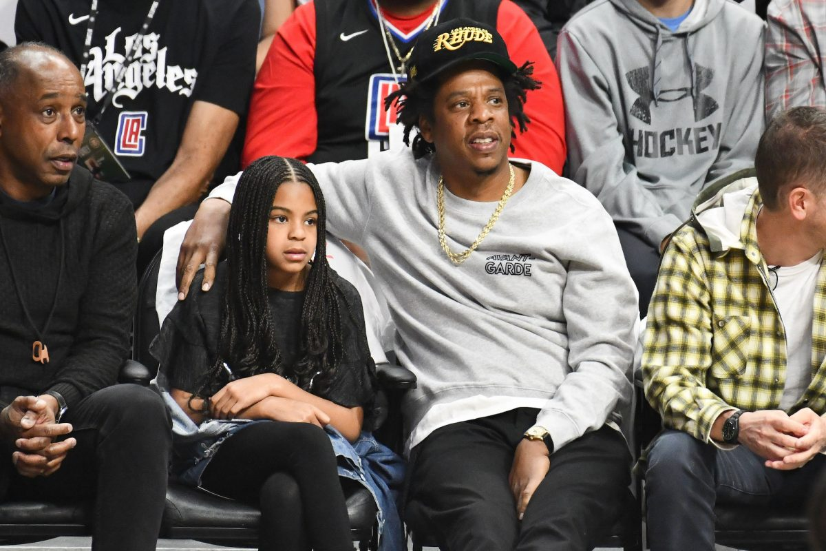 Jay-Z and Blue Ivy Carter