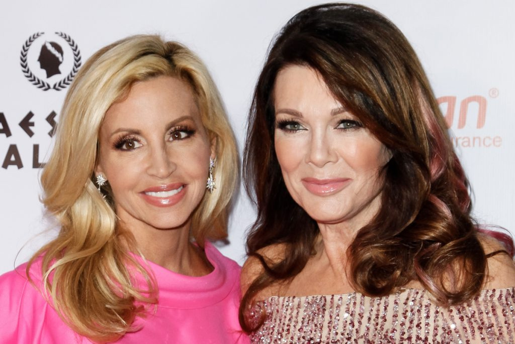 Camille Grammer and Lisa Vanderpump