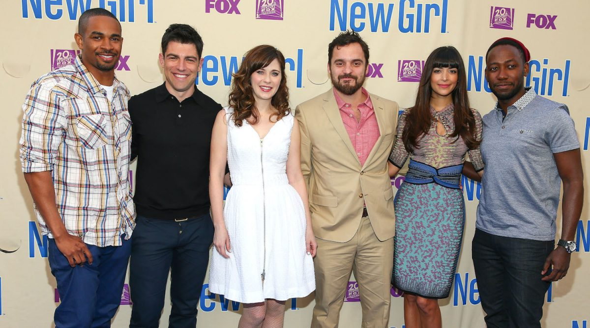 Cast of 'New Girl' season 3 screening and cast Q&A at Zanuck Theater at 20th Century Fox Lot on May 8, 2014