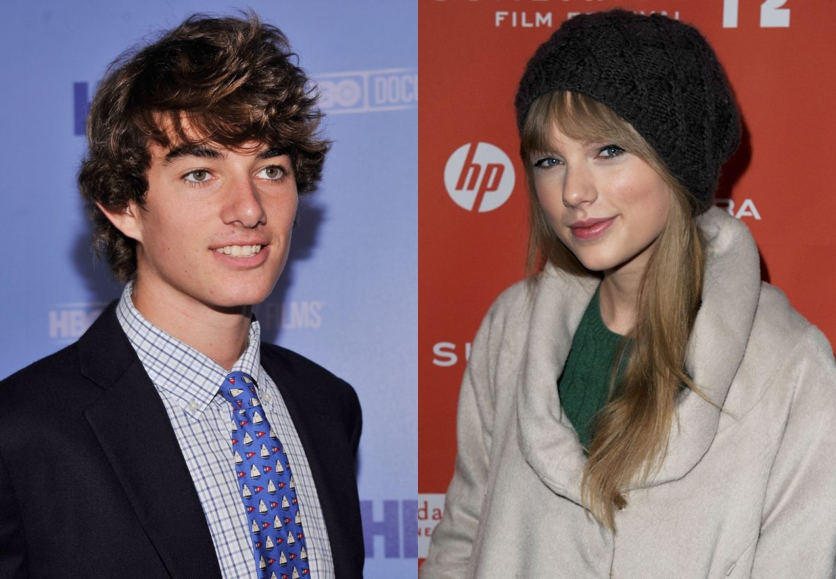 Conor Kennedy and Taylor Swift composite