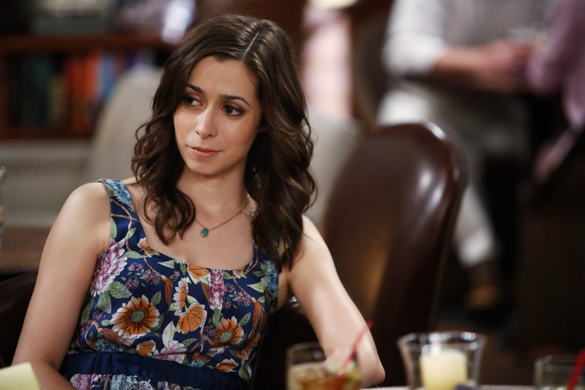 Cristin Milioti as Tracy in 'How I Met Your Mother'