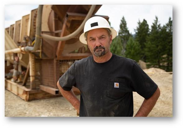 Gold Miner Dave Turin