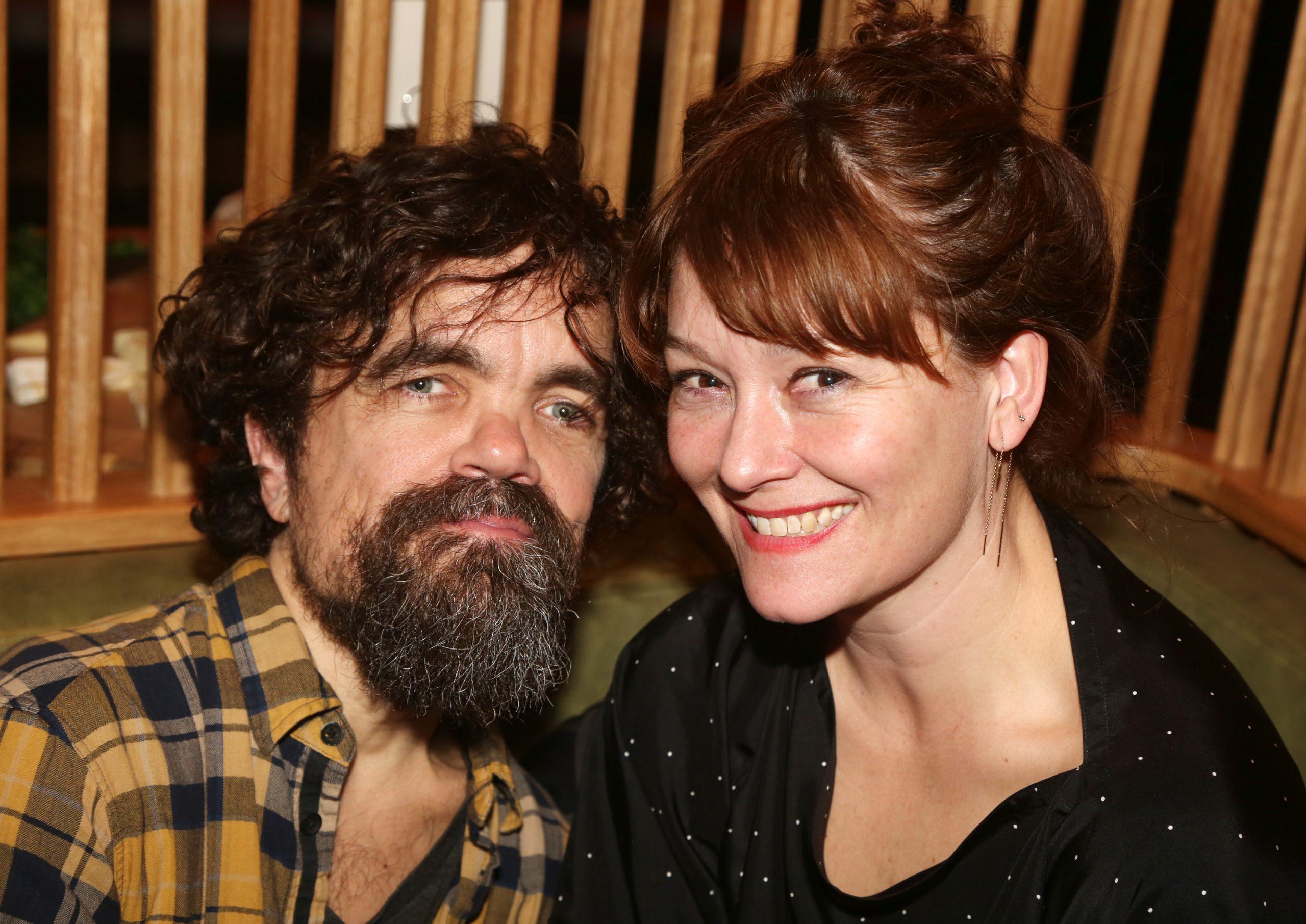 Peter Dinklage and Erica Schmidt