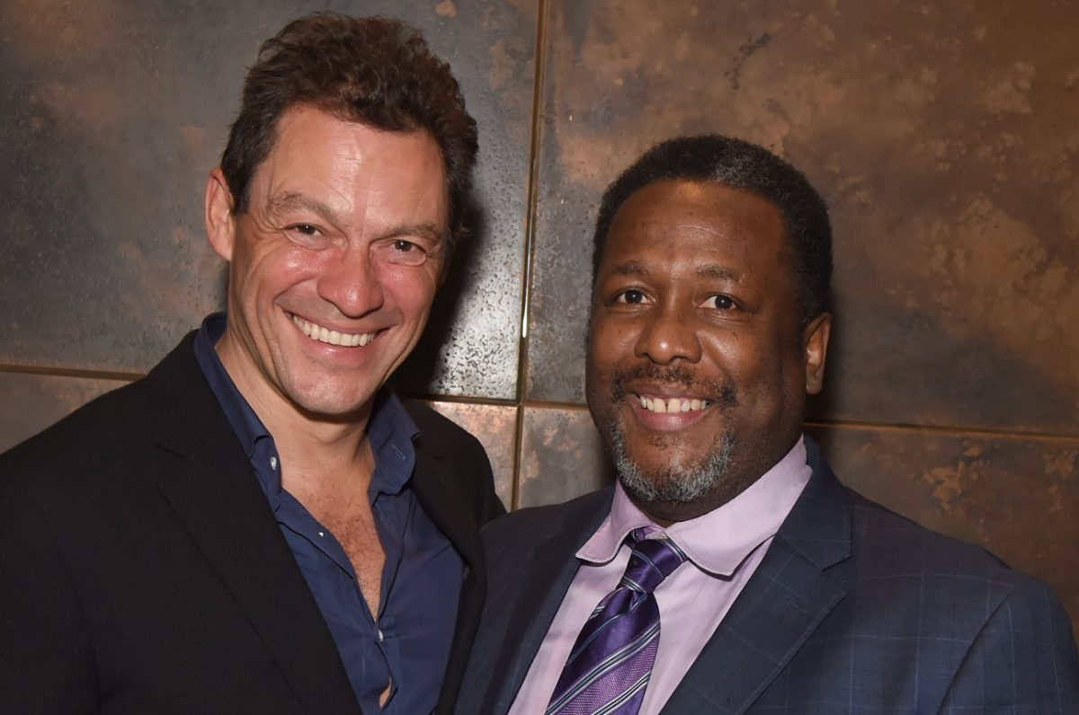 'The Wire' stars Dominic West and Wendell Pierce