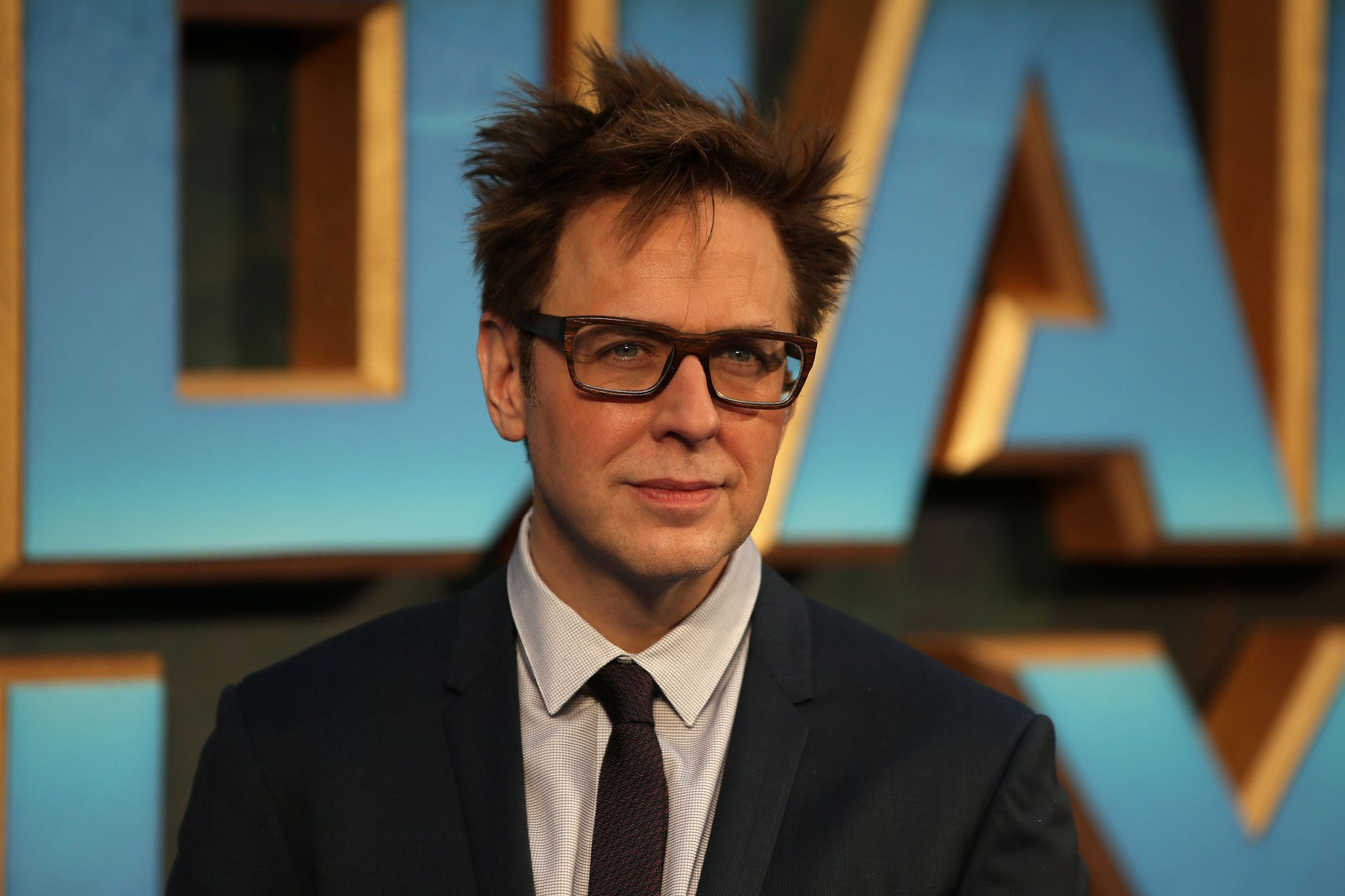 James Gunn at the European Gala screening of 'Guardians of the Galaxy Vol. 2' in London on April 24, 2017.