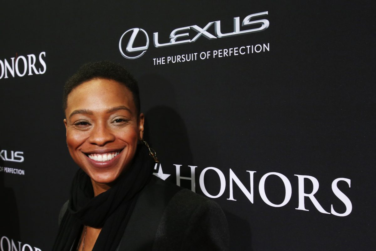 Musician Jessica Betts attends the BET Honors 2014 red carpet on February 8, 2014 in Washington, DC.