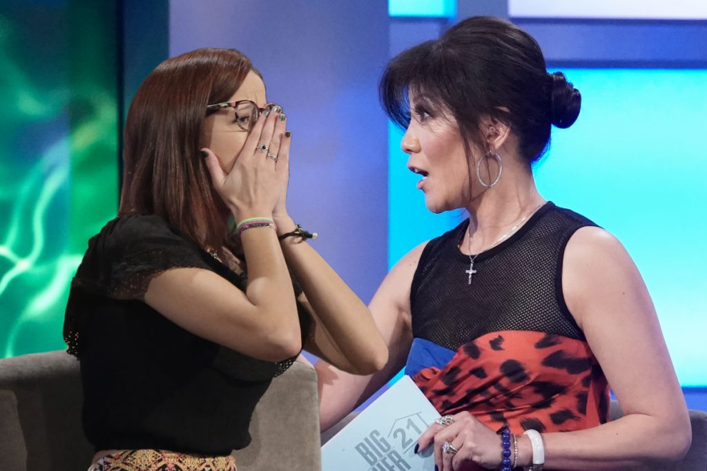 Nicole Anthony and Julie Chen
