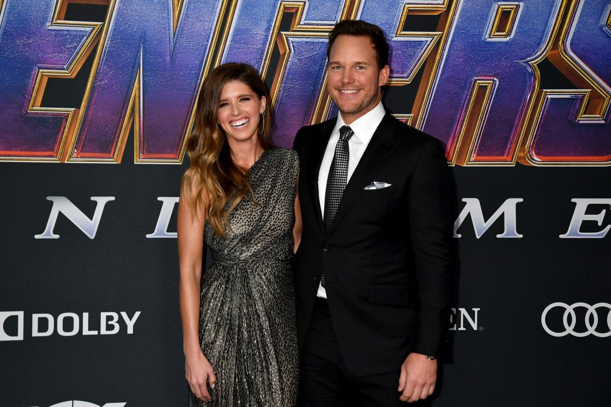 Katherine Schwarzenegger and Chris Pratt attends the World Premiere of Walt Disney Studios Motion Pictures 'Avengers: Endgame' at Los Angeles Convention Center on April 22, 2019 in Los Angeles, California.