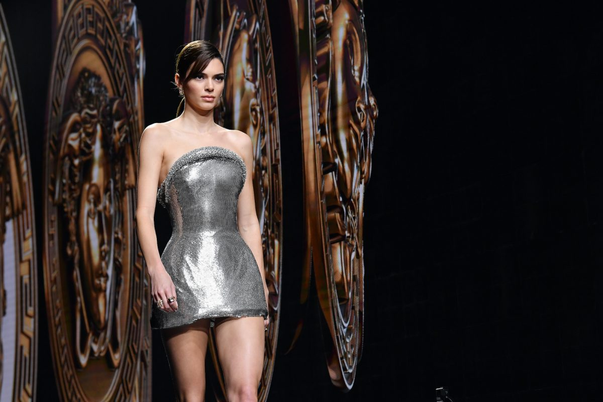 Kendall Jenner walks the runway