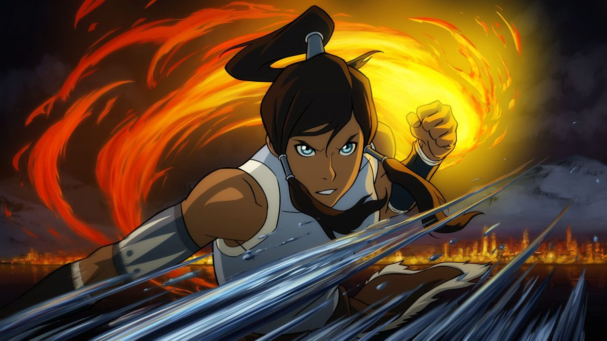 Janet Varney voiced Korra in The Legend of Korra