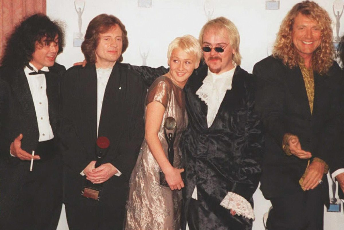 Led Zeppelin at Rock Hall of Fame induction
