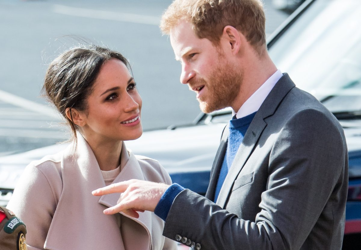 Prince Harry and Meghan Markle attend an event to mark the second year of youth-led peace-building initiative Amazing the Space at the Eikon Exhibition Centre on March 23, 2018