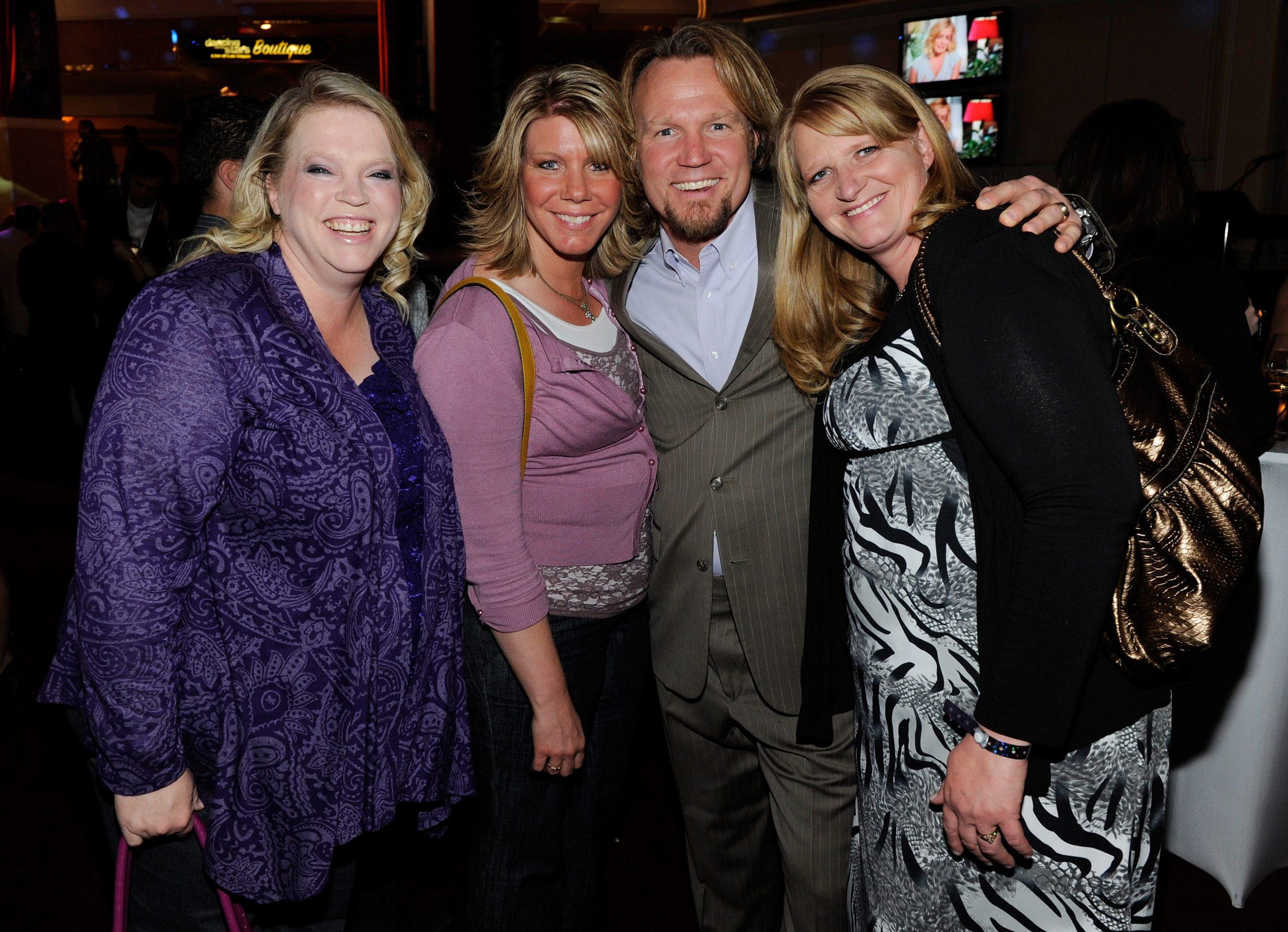 Janelle Brown, Meri Brown, Kody Brown, and Christine Brown of Sister Wives