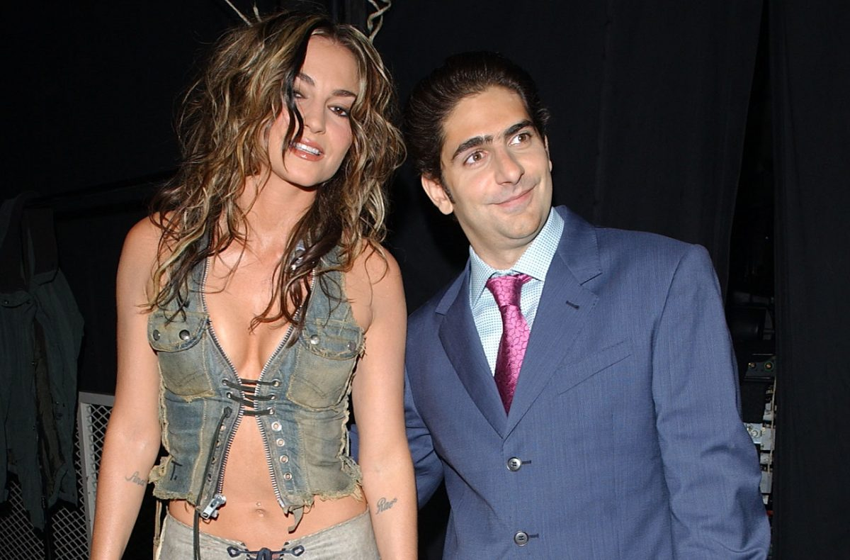 Michael Imperioli and Drea de Matteo at an awards show