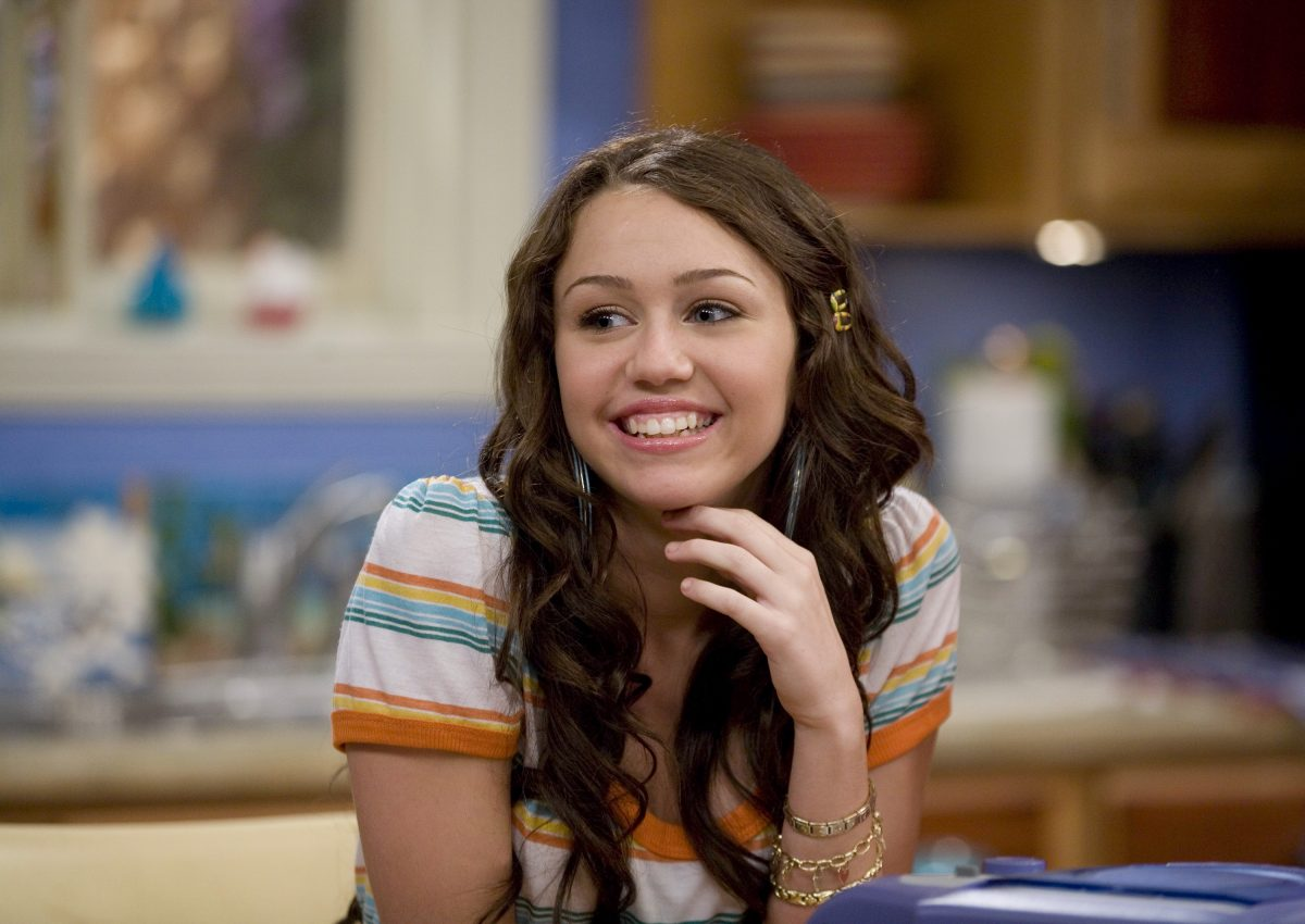 Miley Cyrus in 'Hannah Montana'