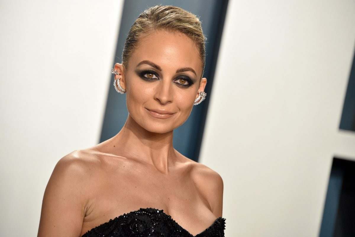 Nicole Richie on the red carpet